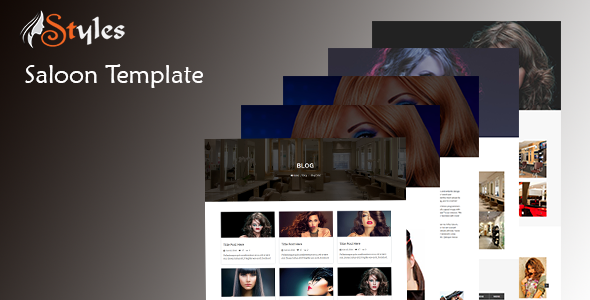 Styles - HTML Salon Template - Site Templates