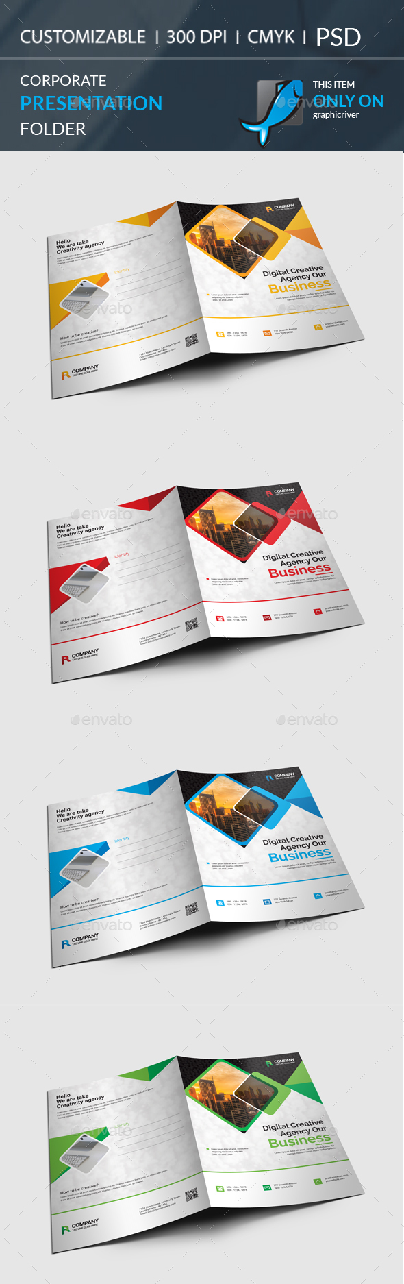 GraphicRiver Presentation Folder 20948455