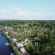 Aerial View of the Ples, a City on the Volga, in the Sunny Weather - VideoHive Item for Sale