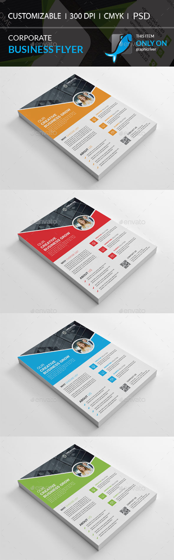GraphicRiver Corporate Flyer 20948503
