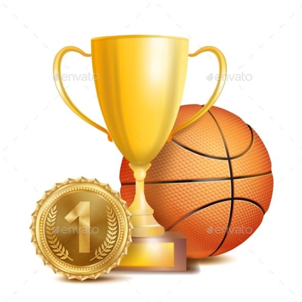 GraphicRiver Basketball Achievement Award Vector 20949114