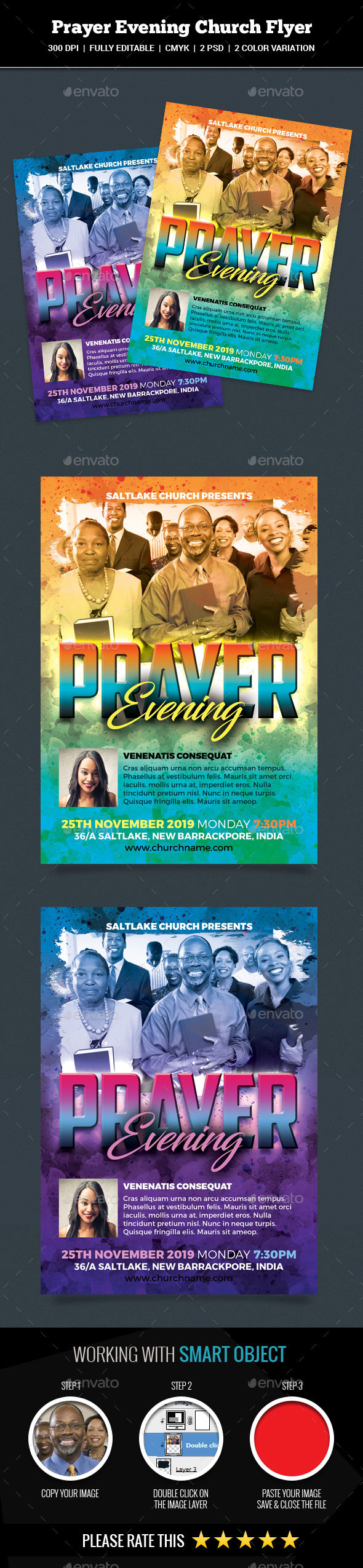 GraphicRiver Prayer Evening Church 20949128