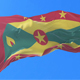 Flag of Grenada Waving at Wind - VideoHive Item for Sale