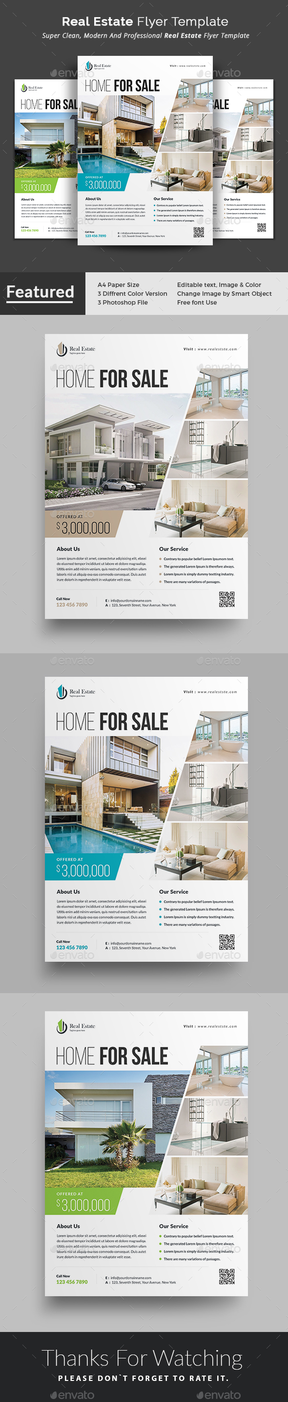 GraphicRiver Real Estate Flyer 20949202