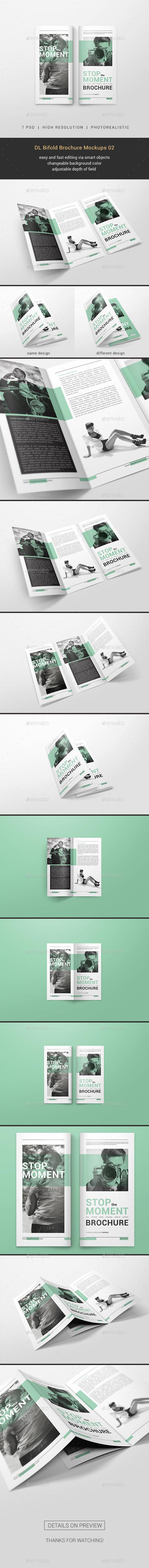 GraphicRiver DL Bifold Brochure Mockups 02 20949294
