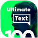 Ultimate Text | 100 Titles Animation - VideoHive Item for Sale