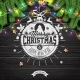 Merry Christmas and Happy New Year Illustration - GraphicRiver Item for Sale
