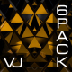 Golden Triangle Pattern VJ Pack - VideoHive Item for Sale