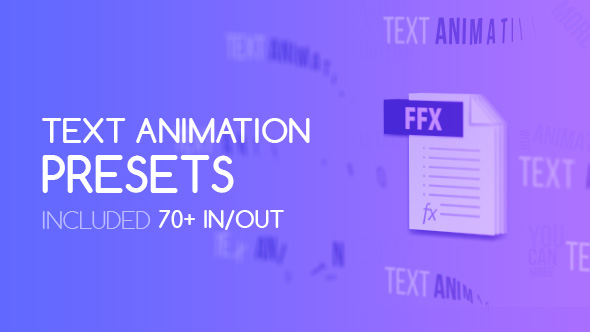 VideoHive Modern Text Presets 20949682