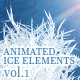 Animated Ice Elements. Vol.1 - VideoHive Item for Sale