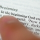 Sunday Reading Holy Bible: in the Beginning God Created - VideoHive Item for Sale