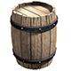 barrels low poly