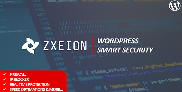 Zxeion - WordPress Security & Firewall