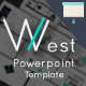 West Powerpoint Template - GraphicRiver Item for Sale