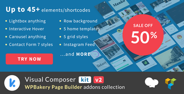 VCKit - WPBakery Page Builder addons collection (Visual Composer) - CodeCanyon Item for Sale