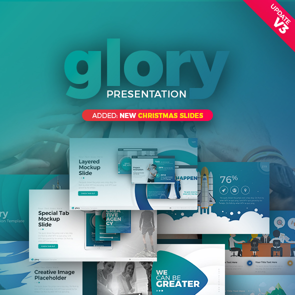 Glory Presentation - Business Pack Powerpoint Template - Business PowerPoint Templates
