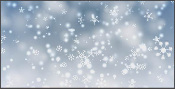 VideoHive Snow Flakes Background 20950929