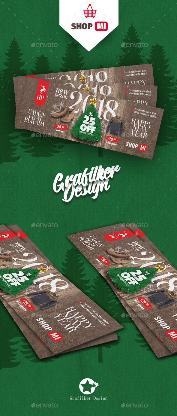 Christmas Sale Cover Templates - Facebook Timeline Covers Social Media