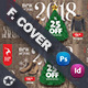 Christmas Sale Cover Templates - GraphicRiver Item for Sale
