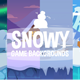 Parallax Snowy 2D Backgrounds