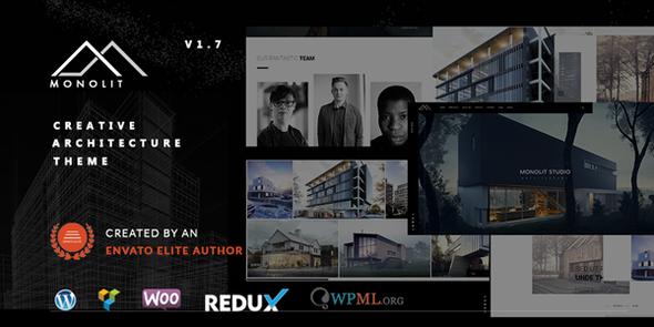 Monolit – Responsive Architecture WordPress Theme - Business Corporate
