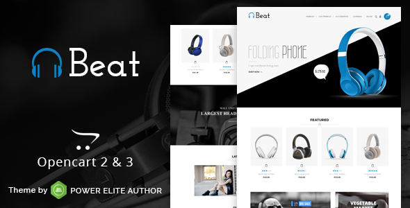 Beat - Multipurpose OpenCart 3 & 2 Theme - Technology OpenCart
