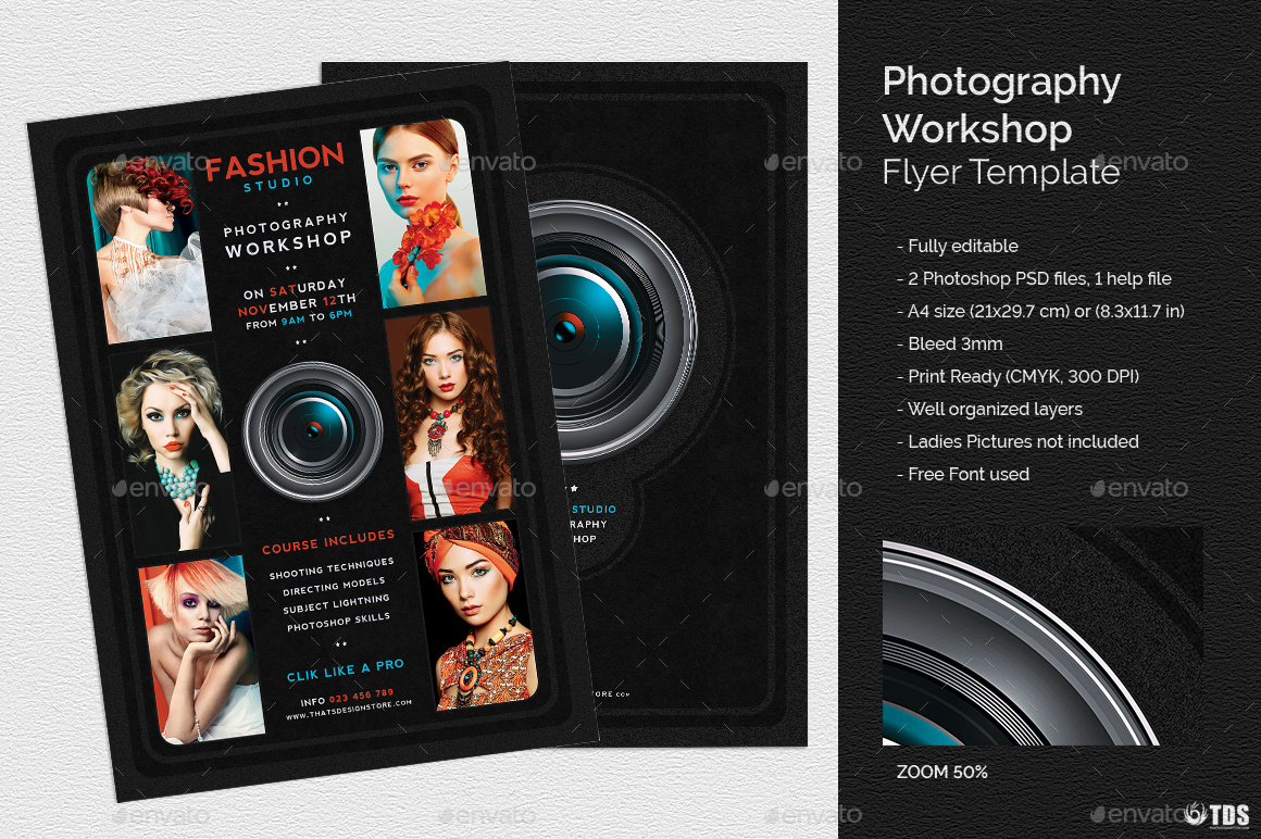 Photography workshop flyer template by lou606 graphicriver 01photography workshop flyer templateg saigontimesfo