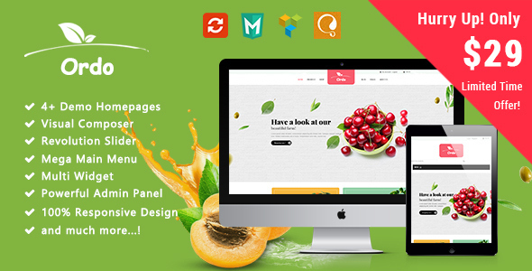 Ordo - Organic Responsive WooCommerce WordPress Theme - WooCommerce eCommerce
