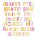 Diseases titles.