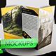 Tri Fold Brochure MockUps - Realistic Brochure MockUps