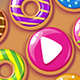 Donuts Match3 HTML5 Game