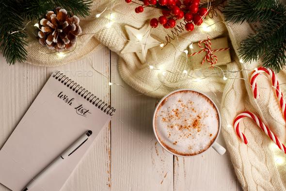 Winter holidays background - Stock Photo - Images