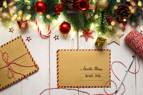 letters to Santa Claus - Stock Photo - Images