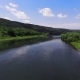 Aerial View. Low Flight Over Fresh River at Sunny Summer Morning - VideoHive Item for Sale
