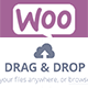 WooCommerce Product Drag and Drop Files Upload
