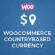 WooCommerce Multilingual - Country Based Currency
