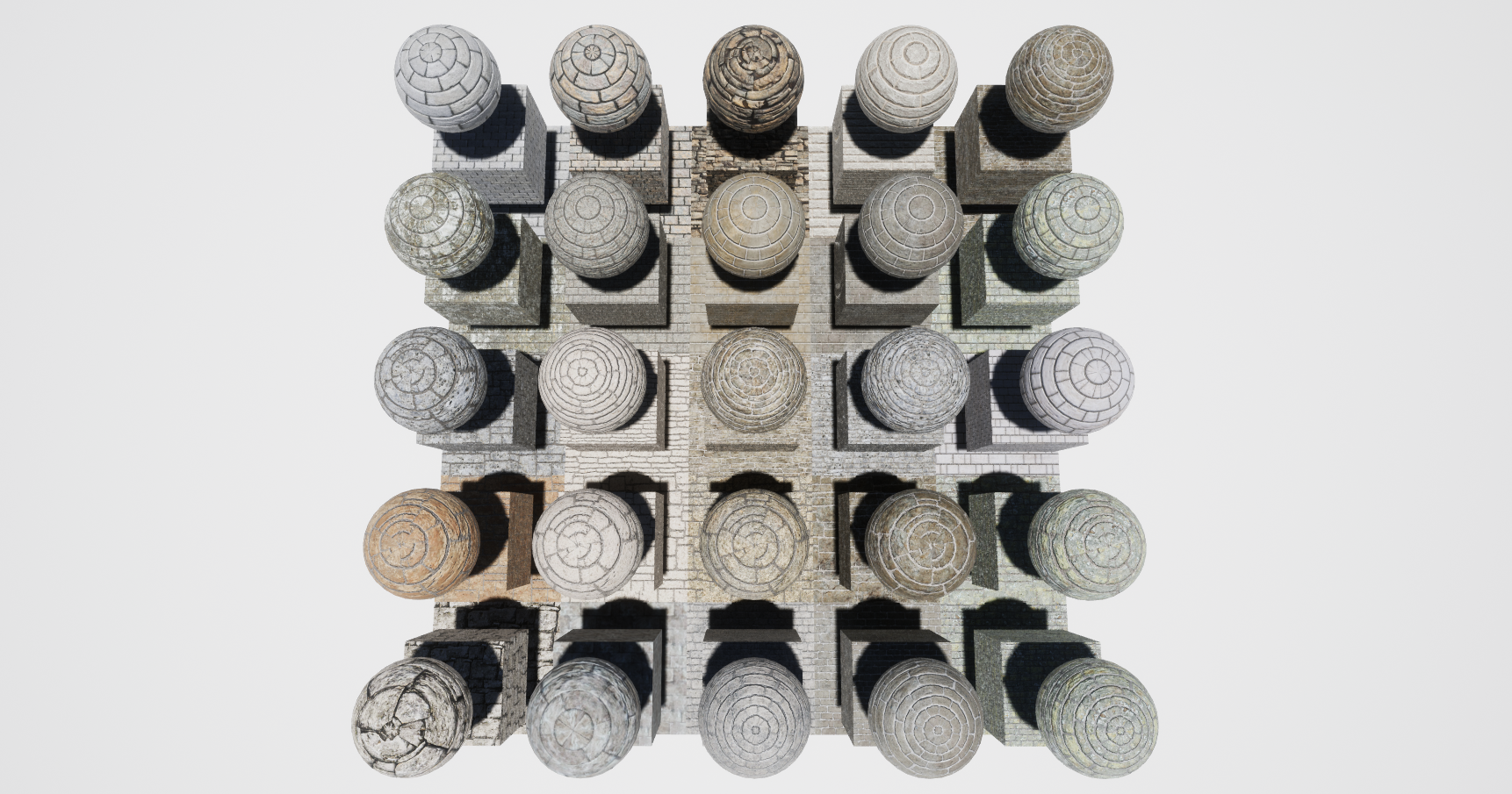 Stone Block Mobile Materials Package Volume 1