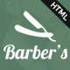 Barber - Html Template for Barbers and Hair Salon - ThemeForest Item for Sale