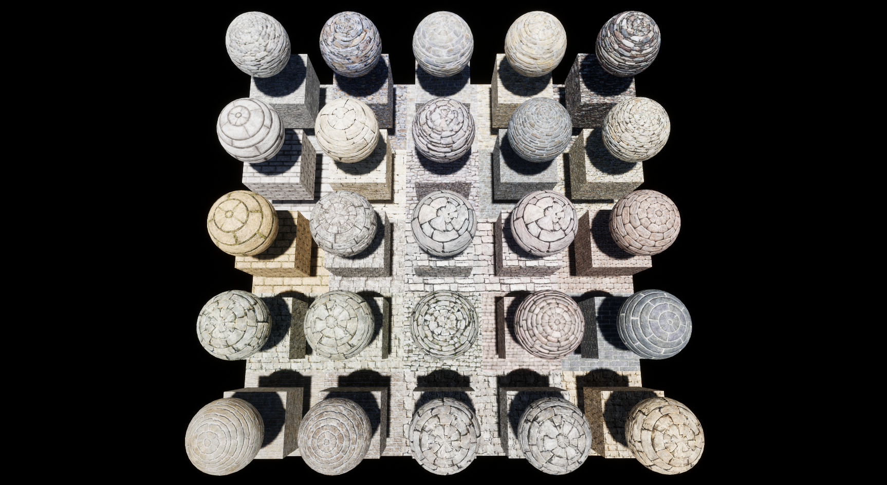 Stone Block Console Materials Package Volume 2