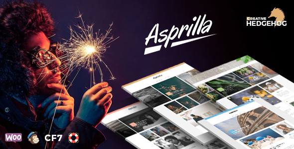 ThemeForest Asprilla a Multi-Concept Blog Theme For WordPress 20763162