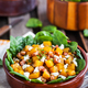 Butternut squash, bacon, spinach and feta cheese warm salad - PhotoDune Item for Sale