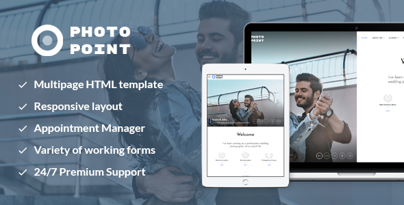 Image of Photo Point — Lovestory Photo Portfolio Website Template