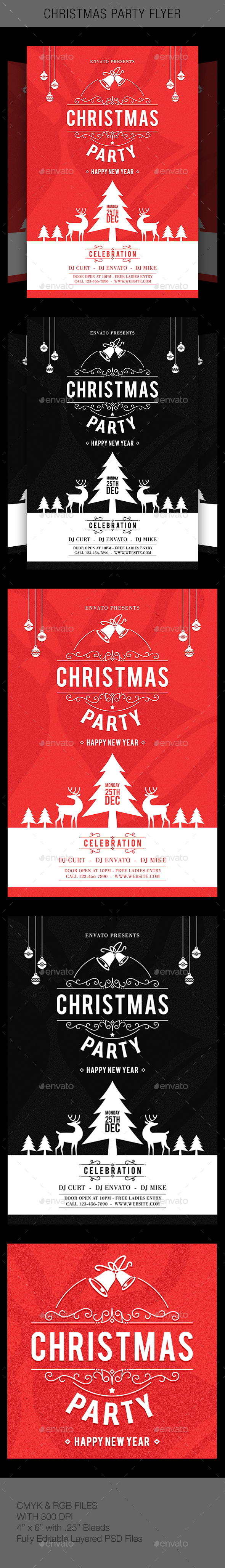 GraphicRiver Christmas Party 20952743