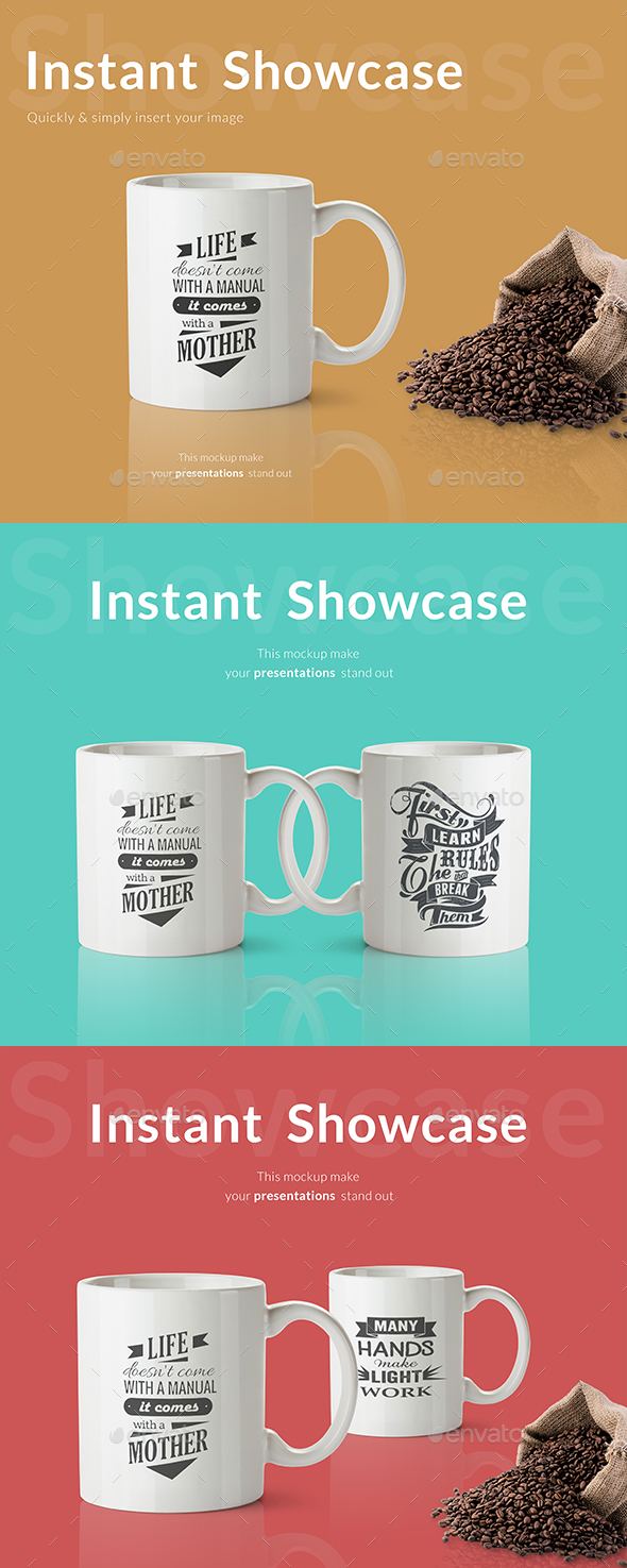 Creative Cup Mockup - Product Mock-Ups Graphics