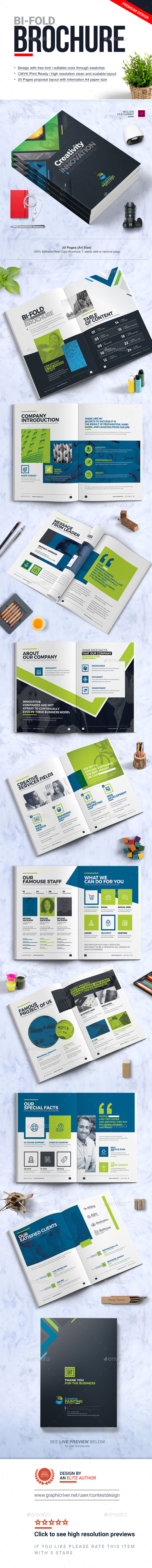 GraphicRiver Corporate Business Brochure Design Template 20952833