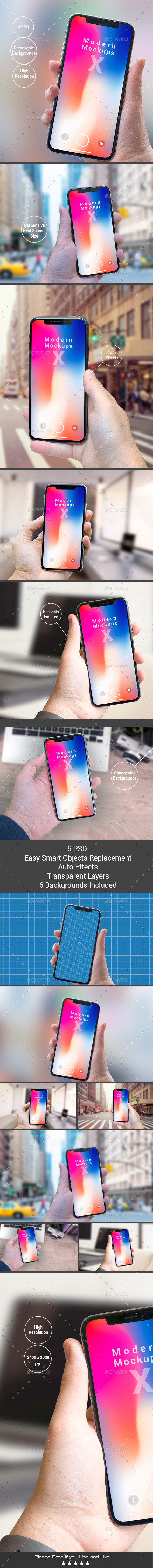 GraphicRiver X Modern Mock-ups Apps Ui Showcase 20952964