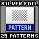 25 Tileable / Seamless (Silver) Foil Patterns