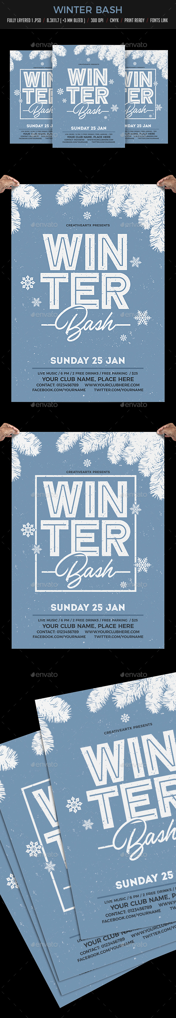 GraphicRiver Winter Bash 20953088