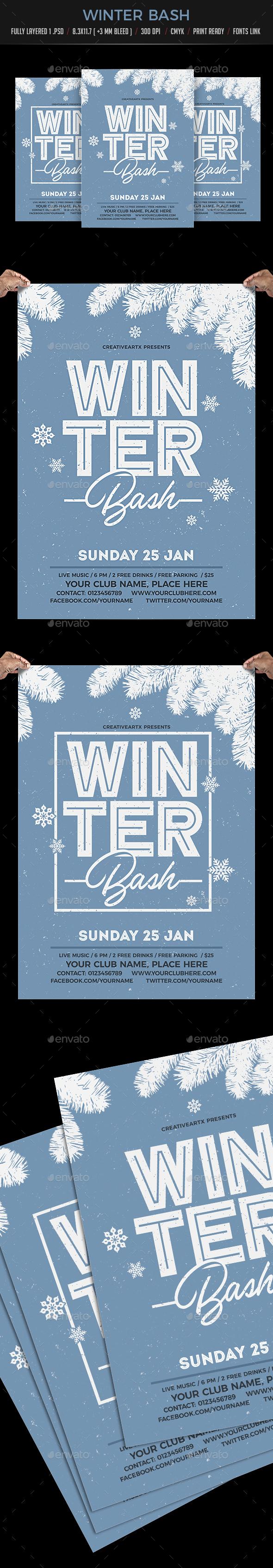 GraphicRiver Winter Bash 20953088