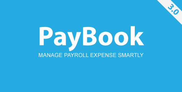 Paybook Payroll Management - CodeCanyon Item for Sale